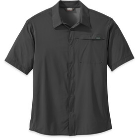 Outdoor Research Astroman S/S Sun Shirt Herre charcoal